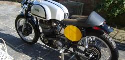 Peter Darvill 500cc Manx Norton